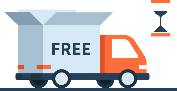 Free Shipping and time and cost of shipping